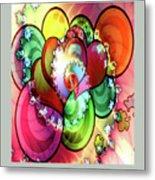 Colors Of Love Metal Print