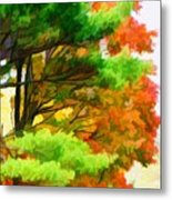 3 Colors Of The Nature 1 Metal Print
