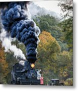 Country Railroad Crossing Metal Print