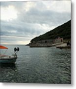 Cunski Beach And Coastline, Losinj Island, Croatia Metal Print