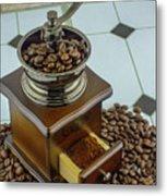 Daily Grind Coffee Metal Print