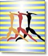 3 Dancers Metal Print