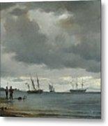 Danish Seascape Metal Print
