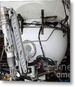 Deep Sea Submarine Metal Print