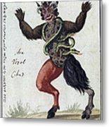 Demonology, 18th Century Metal Print