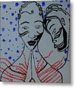 Dinka Marriage  South Sudan Metal Print