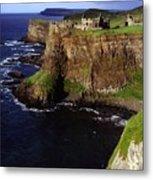 Dunluce Castle, Co. Antrim, Ireland Metal Print
