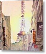 Eiffel Tower Paris France Metal Print