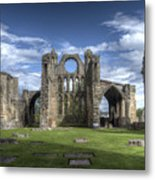Elgin Cathedral Metal Print