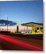 Estonian Gas Station Metal Print by Jaak Nilson