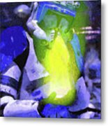 Execute Order 66 Blue Team Commander - Camille Style Metal Print