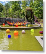 Chihuly Exhibition In The Atlanta Botanical Garden. #01 Metal Print