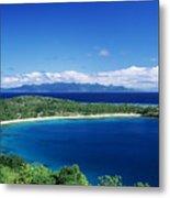 Fiji Wakaya Island Metal Print