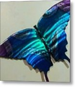 Fly Away Butterfly Metal Print