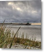 Folly Beach Pier  Metal Print