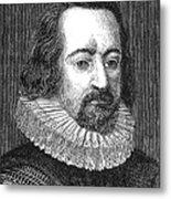 Francis Bacon, English Polymath Metal Print