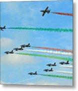 Frecce Tricolori Metal Print