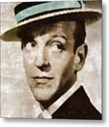 Fred Astaire Hollywood Legend Metal Print