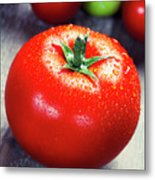 Fresh Tomatoes Metal Print