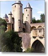 Germans Gate - Metz, France Metal Print