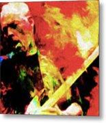 Gilmour Nixo Metal Print