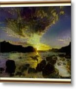 Glory Be To The Father, Glory Be To The Son, Glory Be To The Holy Ghost. L A S - Hudson River Style Metal Print