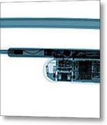 Google Glass, X-ray Metal Print