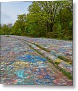 Graffiti Highway, Facing North Metal Print