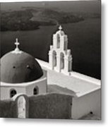 Greek Island - Santorini Metal Print