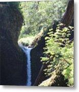 Hike Eagle Creek Metal Print