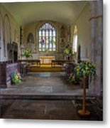 Holy Cross Church, Ramsbury Metal Print