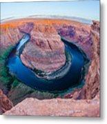 Horseshoe Bend Near Page Arizona Metal Print