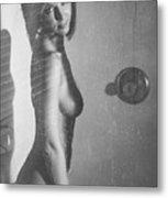 Hot Shower Metal Print