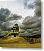 House At The End Of The Road Metal Print