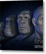 Human Evolution Metal Print