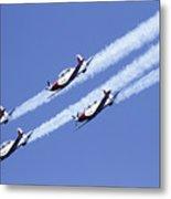 Iaf Acrobatic Team Metal Print