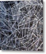 3. Ice Pattern 2, Corbridge Metal Print