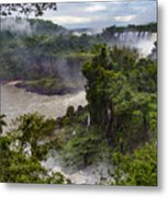 Iguazu Falls - South America Metal Print