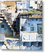 Jodhpur Blue City Metal Print