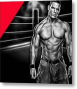 John Cena Wrestling Collection Metal Print