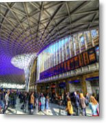 Kings Cross Rail Station London Metal Print