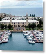 Kings Wharf Bermuda Metal Print