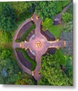 Kingwood Center Gardens Metal Print