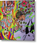 Kintu And Nambi A Folktale Metal Print