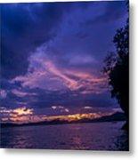 Krabi Sunset Metal Print