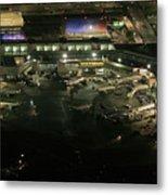 Laguardia Airport Aerial View Metal Print
