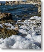 Lakefront At Mono Lake, Eastern Sierra, California, Usa Metal Print