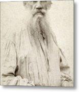 Leo Tolstoy (1828-1910) Metal Print