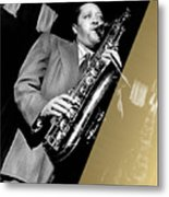 Lester Young Collection Metal Print