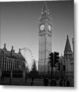 London  Skyline Big Ben Metal Print